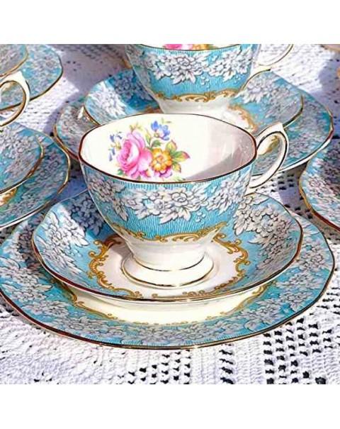 (OUT OF STOCK) ROYAL ALBERT ENCHANTMENT TEA SET
